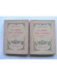 Jacques Bainville - Le jardin des lettres. Deux volumes, complet