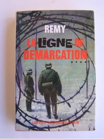 Colonel Rémy - La Ligne de démarcation. Tome 4