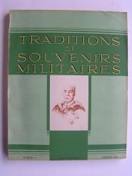 Traditions et souvenirs militaires. Numéro 2. Janvier 1944