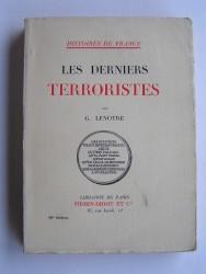 Les derniers Terroristes