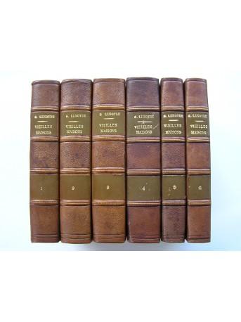 G. Lenotre - Vieilles maisons et vieux papiers. Complet des 6 Tomes