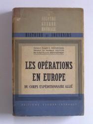 Les opérations en Europe du Corps Expéditionnaire Allié