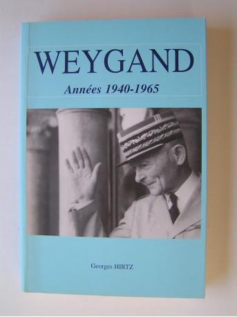 Georges Hirtz - Weygand. Années 1940 - 1965