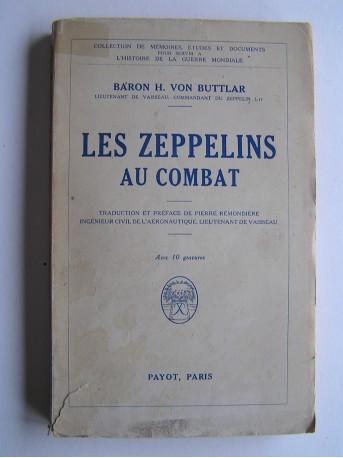 Baron H. von Buttlar - Les Zeppelins au combat