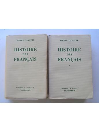 Pierre Gaxotte - Histoire des Français