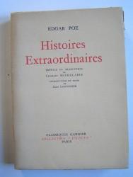 Edgar Alan Poe - Histoires extraordinaires