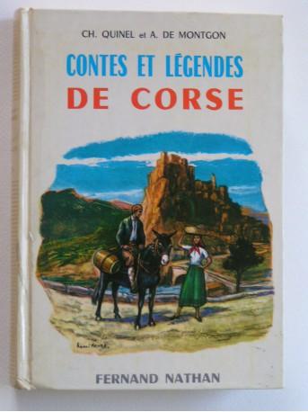 CH. Quinel et A. de Montgon - Contes et légendes de Corse