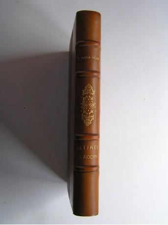 Rainer Maria Rilke - Lettres à Rodin