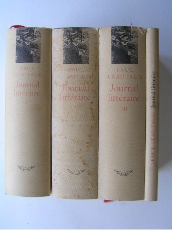 Paul Léautaud - Journal littéraire. Complet de Nov 1893 à février 1956.
