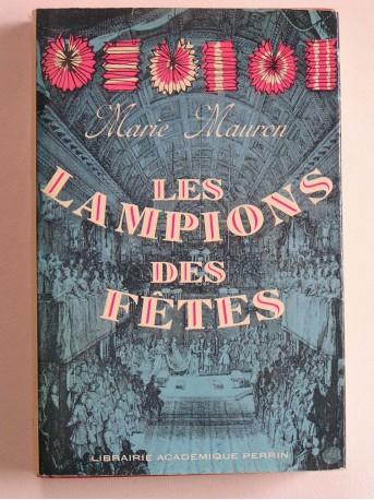 Marie Mauron - Les lampions des fêtes