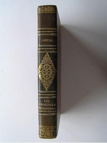 Blaise Pascal - Lettres écrites à un Provincial