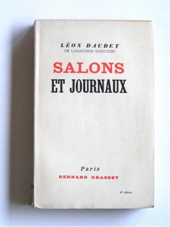 Léon Daudet - Salons et journaux