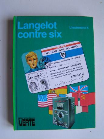 Lieutenant X (Vladimir Volkoff) - Langelot contre six