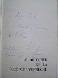 Colonel Rémy - La Ligne de démarcation. Le déjeuner de la Croix-de Vernuche.