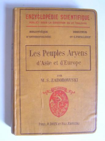 M.S. Zaborowski - Les peuples Aryens d'Asie et d'Europe