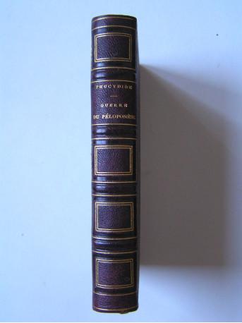 Thucydide - Histoire de la guerre du Péloponèse de Thucydide.