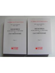 Mémoires pour servir à l'histoire du Jacobinisme. Complet. Tomes 1 & 2.