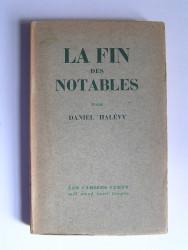 Daniel Halévy - La fin des notables