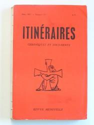 Divini redemptoris: 30e anniversaire. Itinéraires n°111. Mars 1967