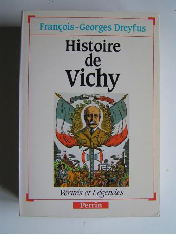 François-Georges Dreyfus - Histoire de Vichy