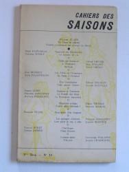 Collectif - Cahiers des saisons. 3ème série - N°14