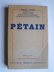 Général Laure - Pétain