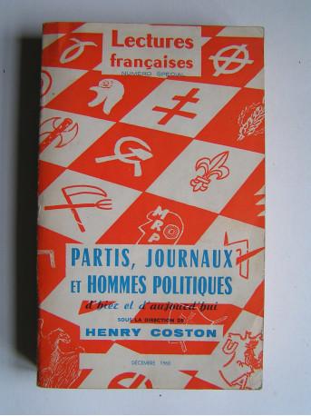 Henry Coston - Partis, journaux et hommes politiques d'hier et d'aujourd'hui