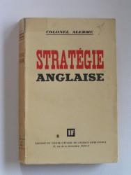 La stratégie anglaise