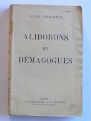 Aliborons et démagogues