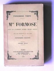 Mgr Formose. Suivi de plusieurs autres textes inédits.