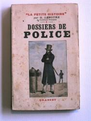 Dossiers de police