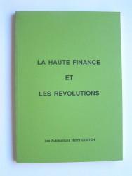 La haute finance et les révolutions