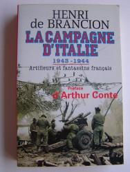 La Campagne d'italie. 1943-1944. Artilleurs et fantassins français
