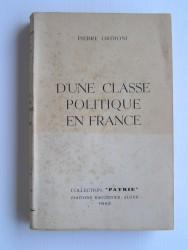 D'une classe politique en France