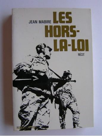Jean Mabire - Les hors-la-loi