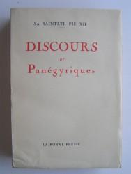 Discours et Panégyriques