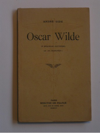 André Gide - Oscar Wilde. In mémoriam (Souvenirs)
