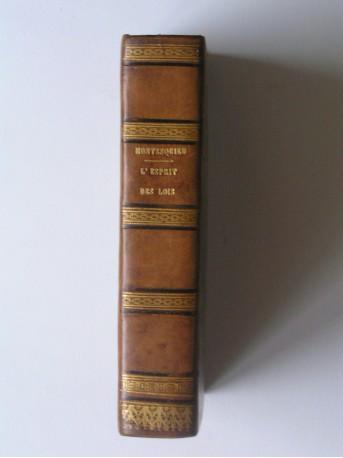 Montesquieu - L'esprit des lois