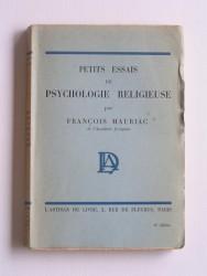 Petits essais de psychologie religieuse