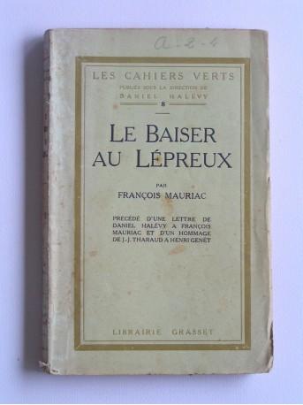 François Mauriac - Le baiser au lépreux