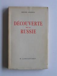 Découverte de la Russie