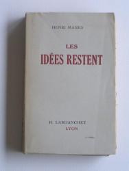 Les idées restent