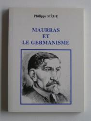 Maurras et le germanisme