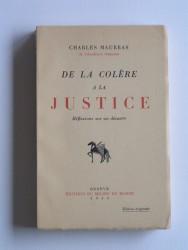 De la colère à la justice. Réflexions sur un désastre