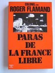 Colonel Roger Flamand - Paras de la France Libre