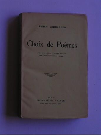 Emile Verhaeren - Choix de poèmes