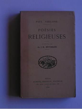 Paul Verlaine - Poésies religieuses