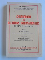 Chronologie des relations internationales de 1870 à nos jours