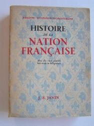 Philippe d'Estailleur-Chanteraine - Histoire de la Nation française