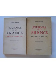 Journal de la France. Tome 1: Mars 1939 - juillet 1940 & Tome 2: Aout 1940 - avril 1942